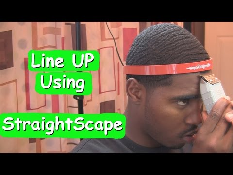 How to Give Yourself a LineUP using StraightScape
