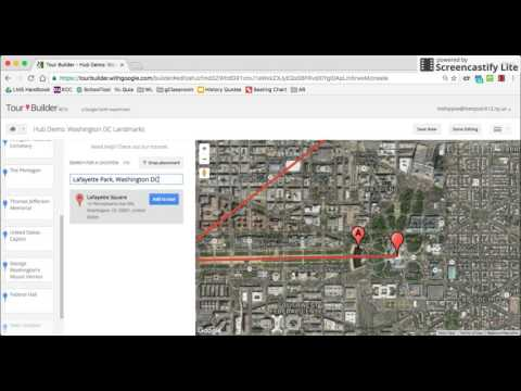 Google Tour Builder Tip: How to drop a pin into Streetview