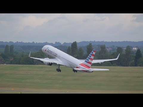 Morning Spotting at Birmingham International Airport BHX Thursday 23rd July 2015