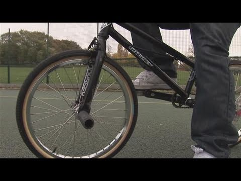 How To Learn Riding A BMX Bike