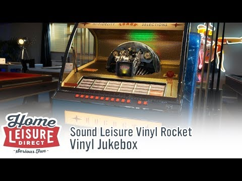 Sound Leisure Vinyl Rocket Jukebox