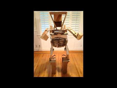 Cardboard robot: - Marc W. Zak