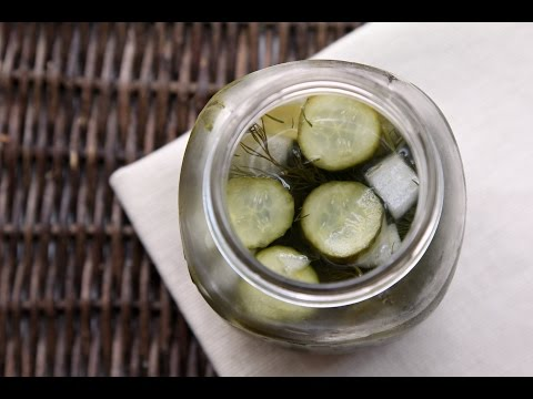 OVERNIGHT HOMEMADE PICKLES RECIPE