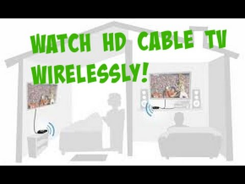 How to connect TV wireless to HD cablebox / bluray from another room