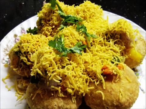 Ragda Puri/ Mumbai Street food/ Mumbai Chat item/Eng subtitles