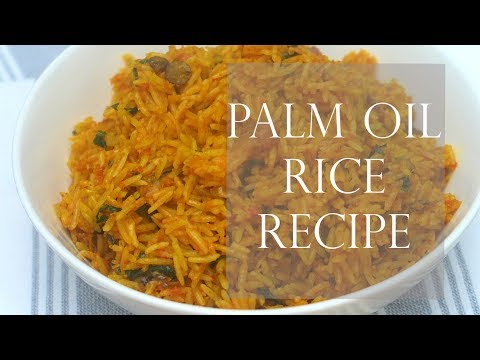 Palm Oil Rice Recipe