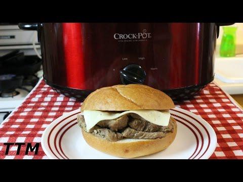 Easy Crock Pot Slow Cooker Recipe~Tender Beef Tri Tip Roast~Tri Tip Sandwich
