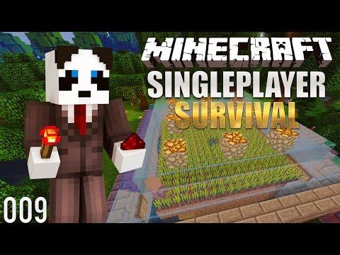 Minecraft Survival Lets Play: Ep. 9 - Building A Minecraft Villager Breeder 1.12