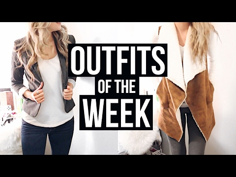 FEBRUARY OOTW | Outfits Of The Week