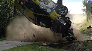 ERC Rally Rzeszow 2017   BIG CRASHES & ACTION