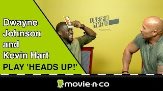 Kevin Hart and Dwayne Johnson play