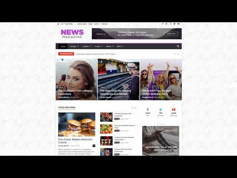 Newsmag WordPress Theme Tutorial - How to Install a Demo