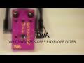TWA WR-03 Wah Rocker® Envelope Filter Guitar Effects Pedal Demo
