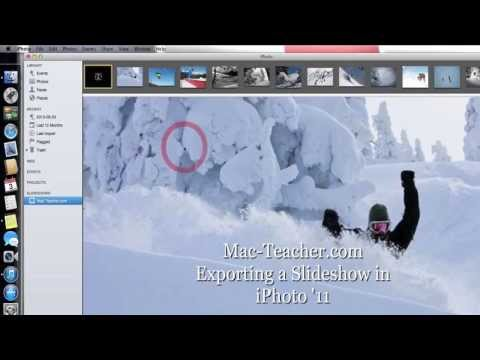 Slideshow Exports from iPhoto