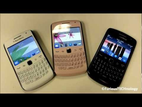 Unboxing blackberry curve 9360 pink breast cancer edition.