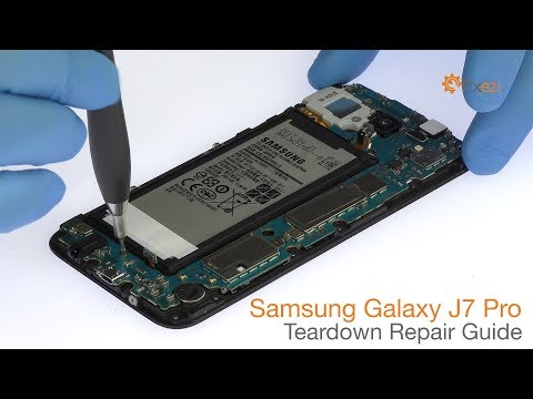 Samsung Galaxy J7 Pro Teardown Repair Guide - Fixez.com