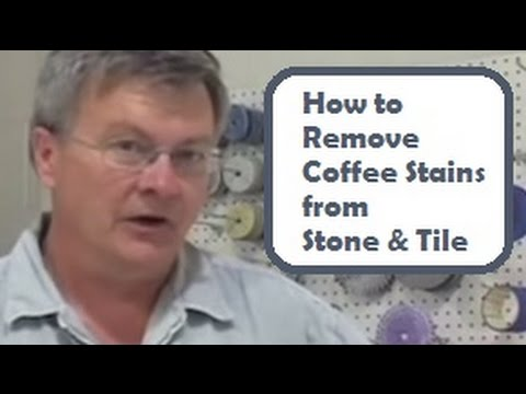 Coffee Stains on Stone Tile: How to Remove Coffee Stains from Stone and Tile - Quick, Cheap, & Easy