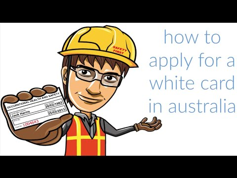 How To Apply For A White Card