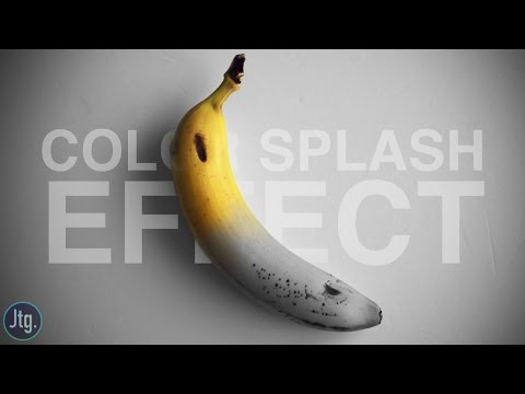 Photoshop CC Tutorial: How to create a Splash of Color Effect