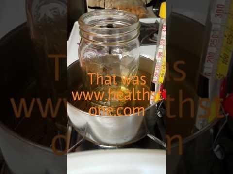 Decarbing Wax In An Oil Bath
