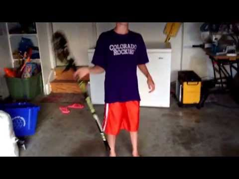 How to cradle a lacrosse stick boy and girls
