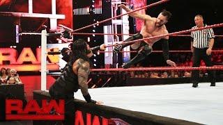 Roman Reigns vs. Finn Bálor: Raw, July 25, 2016