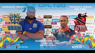2015 Hero CPL final highlights - Tridents vs Red Steel   #CPL15
