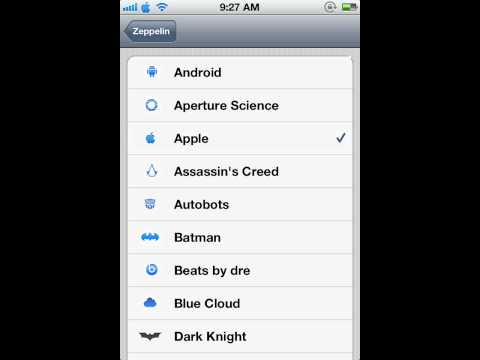 How To Add Symbols To Carrier Name On iPhone