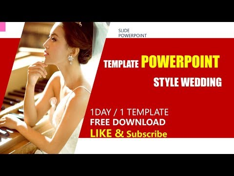 Romantic wedding ceremony❤️ Template Powerpoint free download