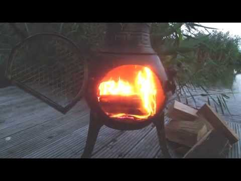 How To Light Your Chiminea | White Stores