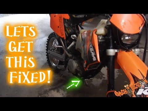 Exhaust header leak seal - Street legal 2 stroke KTM 300XCW