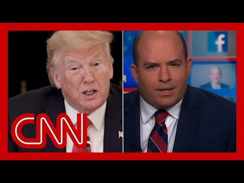 Brian Stelter calls out 'vicious' cycle of Trump's anti-media attacks