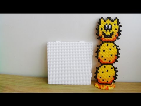 How To Make Larger Hama Bead Sprites With Only 1 Pegboard