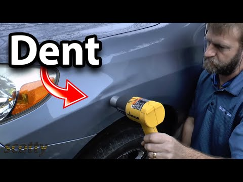 How to Remove Car Dent Without Having to Repaint - DIY