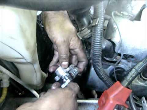 CMP sensor change in Subaru Forester & Outback 2.5L (spanish - english) Cambio de sensor CMP