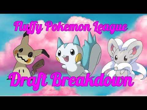 Fluffy Pokémon League Draft Breakdown!!!!!!