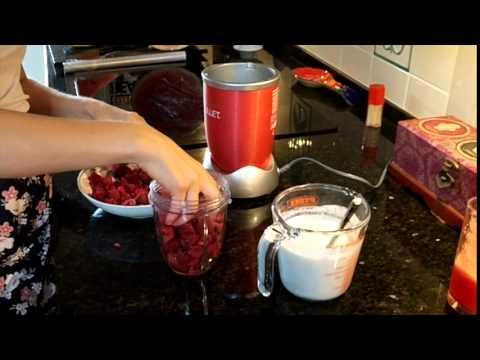FoodAtOne Raspberry Ice Cream with Coconut Milk