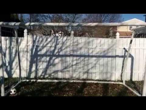 How to build a 12x6 PVC soccer goal