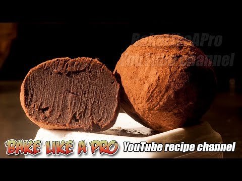 NO FAIL Dark Chocolate Truffles Recipe