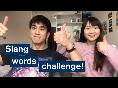 Vlog: Slang words challenge! London Vs. Singapore
