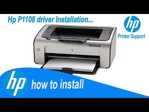 Hp Laserjet P1108 driver | How To Install Easily | Direct Install Driver