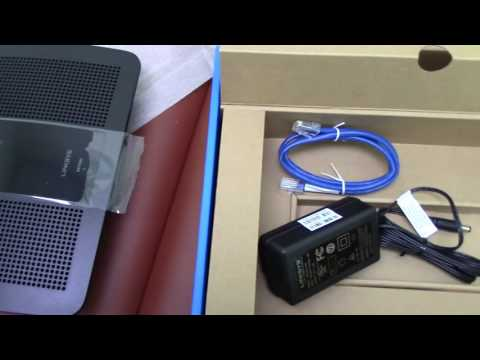Review and setup of Linksys EA7500 Max Stream Router MU MIMO 2x AC1900