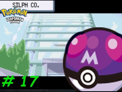 Let's Play Pokemon LeafGreen : Silph Co : The Rival, The Boss And The Lapras