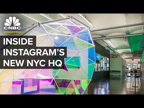 Instagram's NYC HQ Serves Free Booze And Gelato | CNBC