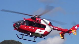 Exactly Like The Original Eurocopter Ec135 Hb-zra Rega | Rc Scale Helicopter