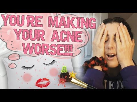 Common Mistakes Making Your Acne Worse (Banish Kit Giveaway)