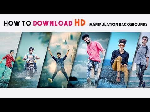 How To Find Manipulation Backgrounds For Editing