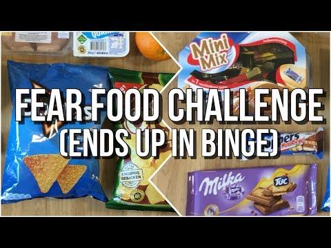 Fear Food Challenge With Jana Katherine - What I