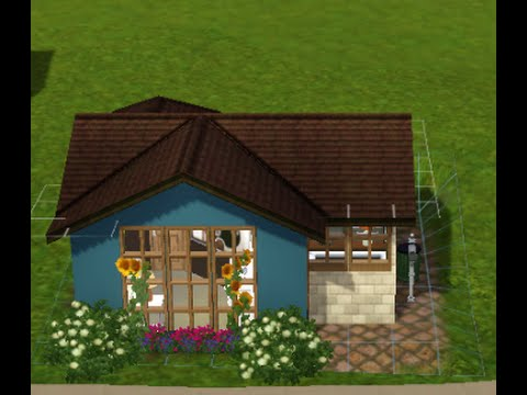Sims 3 Tiny House Build (Starter House)
