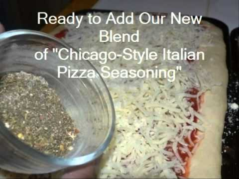 Chicago Style Italian Pizza Seasoning